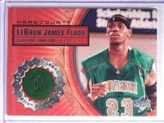 2003-04 Upper Deck Hardcourt Lebron James rookie Floor rc #LB3 *67736