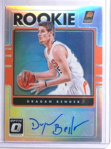 2016-17 Panini Optic Prizm Dragen Bender autograph auto rc rookie #40 *67764