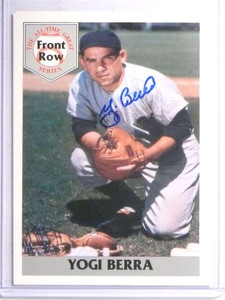 1992 Front Row Yogi Berra autograph auto W/ COA *67777