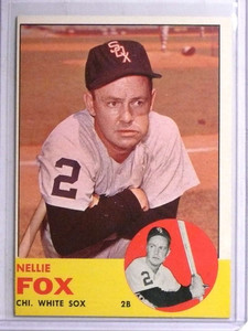 1963 Topps Nellie Fox #525 Exmt *67783
