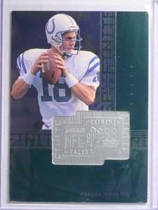 1998 SPX Finite Peyton Manning rc rookie #D5108/7200 #287 *67787
