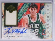 2014-15 Court Kings Sovereign Kevin Mchale autograph auto jersey #D20/25 *67791