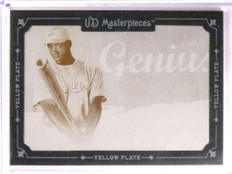 2007 Upper Deck UD Masterpieces B.J. Upton Printing Plate #D 1/1 *67803