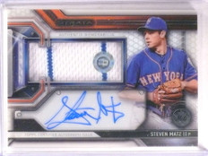 2016 Topps Strata Clearly Authentics Steven Matz autograph auto jersey  *67815