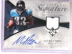 2006 Ultimate Collection Signature Jersey Maurice Drew autograph #D19/35 *67898