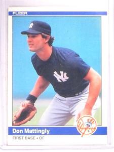1984 Fleer Don Mattingly rc rookie #131 Yankees *67911