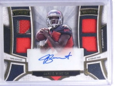 2015 Topps Supreme Jameis Winston autograph auto patch jersey rc #D06/15 *68042