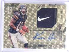 2015 Panini Spectra Kevin White autograph auto Nike Logo patch rc #D 1/1 *68056