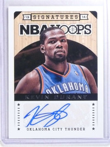 2013-14 Panini Hoops Signatures Kevin Durant autograph auto #111 *68073