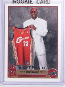 2003-04 Topps Lebron James rc rookie #221 *68075