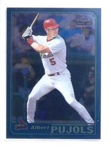 2001 Topps Chrome Final Edition Albert Pujols rc rookie #596 *68158