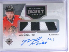 2016-17 Ultimate Collection Debut Thread Mark Mcneill autograph patch /99 *68207