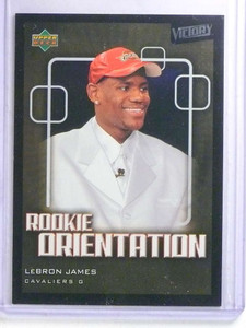 2003-04 Upper Deck Victory Lebron James rc rookie #101 *68259