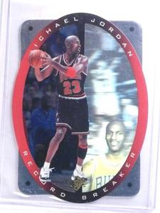 1996-97 SPX Record Breakers Michael Jordan #R1 *68298