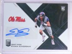 2017 Panini Elite Draft Picks Evan Engram autograph auto rc rookie #150 *68304