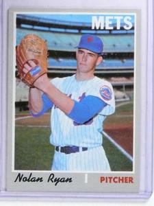 1970 Topps Nolan Ryan Mets #712 EX *68373