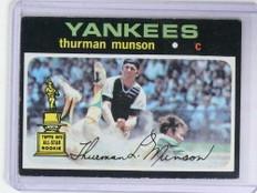 1971 Topps Thurman Munson #5 VG-EX *68400