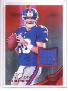 2012 Panini Certified Mirror Red Eli Manning jersey #D52/99 #30 *68442
