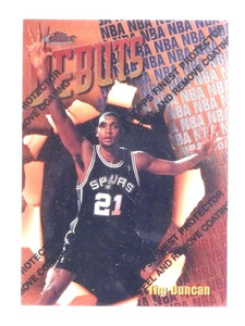 1997-98 Topps Finest Tim Duncan rc rookie #101 *68448