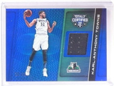 2016-17 Panini Totally Certified Karl-Anthony Towns jersey #D33/99 #6 *68459