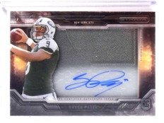 2015 Topps Strata Bryce Petty autograph auto jersey rc rookie *68467