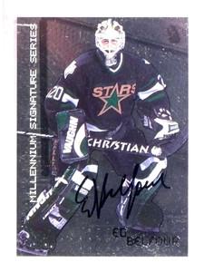 1999-00 Be A Player BAP Ed Belfour autograph auto #79 sp! *68574