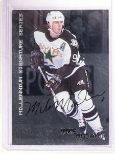 1999-00 BE A Player BAP Millenium Mike Modano autograph auto #76 sp! *68575