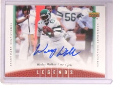 2006 Upper Deck Legends Signature Wesley Walker autograph auto #33 *68591