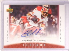 2006 Upper Deck Legends Signature Gary Clark autograph auto #48 *68592