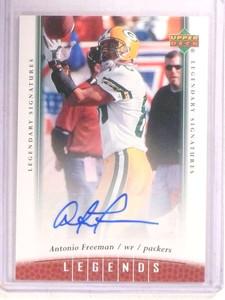 2006 Upper Deck Legends Antonio Freeman autograph auto #60 *68594
