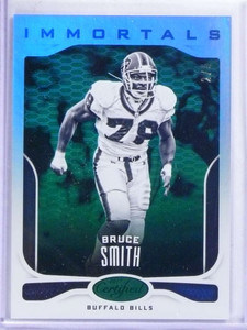 2017 Panini Certifed Immortals Mirror Emerald Bruce Smith #D2/5 #132 *68755