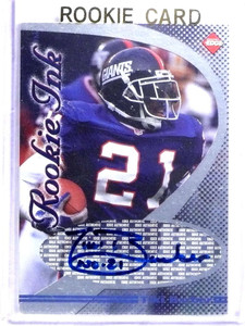 1998 Collector's Edge Rookie Ink Tiki Barber autograph auto  *68799