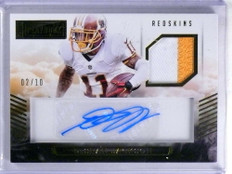 2015 Panini Playbook Desean Jackson autograph auto patch #D02/10 *68804