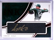 2016 Immaculate Collection Ink Sonny Gray autograph auto #D01/25 *68951