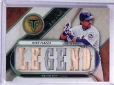 2017 Topps Triple Threads Legend Mike Piazza jersey bat #D01/36  *68934