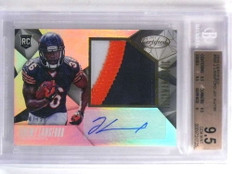 2015 Certified Jeremy Langford autograph patch rc #D68/799 BGS 9.5 *68827