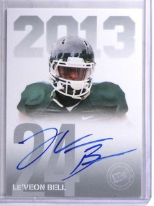 2013 Press Pass Le'Veon Bell autograph auto rc rookie #PPS-LB *68872