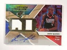 08-09 SPX Winning Materials Andre Iguodala autograph auto jersey #D06/10 *46188