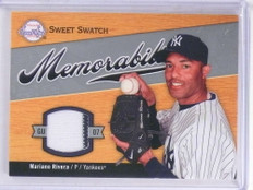 2007 Sweet Spot Memorabilia Swatch Mariano Rivera jersey #SW-RI *69125