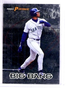 1998 Pinnacle Performers Big Bang Ken Griffey Jr. #D1327/5000 #1of20 *69083