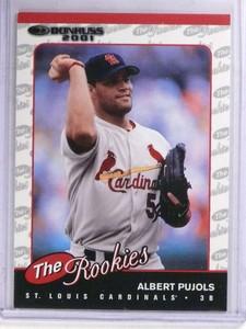 2001 Donruss Albert Pujols rc rookie #R97 *69062