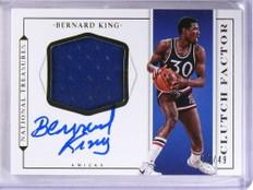 2015-16 National Treasures Clutch Bernard King autograph jersey /49 *69033
