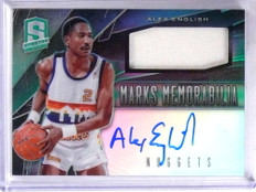 2013-14 Spectra Marks Alex English autograph auto jersey #D178/199 #13 *69117