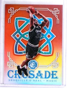 2016-17 Panini Excaliber Crusade Red Shaquille O'neal #D36/99 #87 *69097
