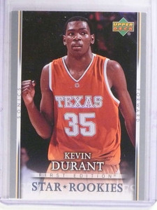 2007-08 Upper Deck First Edition Kevin Durant rc rookie #202 *69105