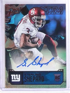 2016 Prestige Xtra Points Sterling Shepard autograph auto rc #SS *69030