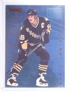 1995-96 Donruss Elite Inserts Mario Lemieux #D05726/10000 #9 *64708
