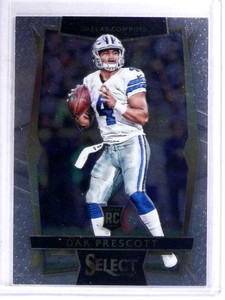 2016 Panini Select Dak Prescott rc rookie #70 *69107