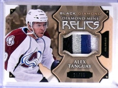 2015-16 Upper Deck Black Diamond Mine Alex Tanguay 4 clr patch #D21/75 *69016