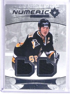2016-17 Ultimate Collection Numeric Mario Lemieux jersey #D23/35 *69065